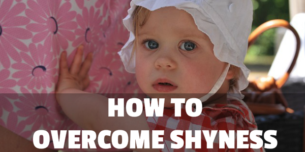 how to overcome social phobia and shyness