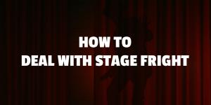 stage phobia